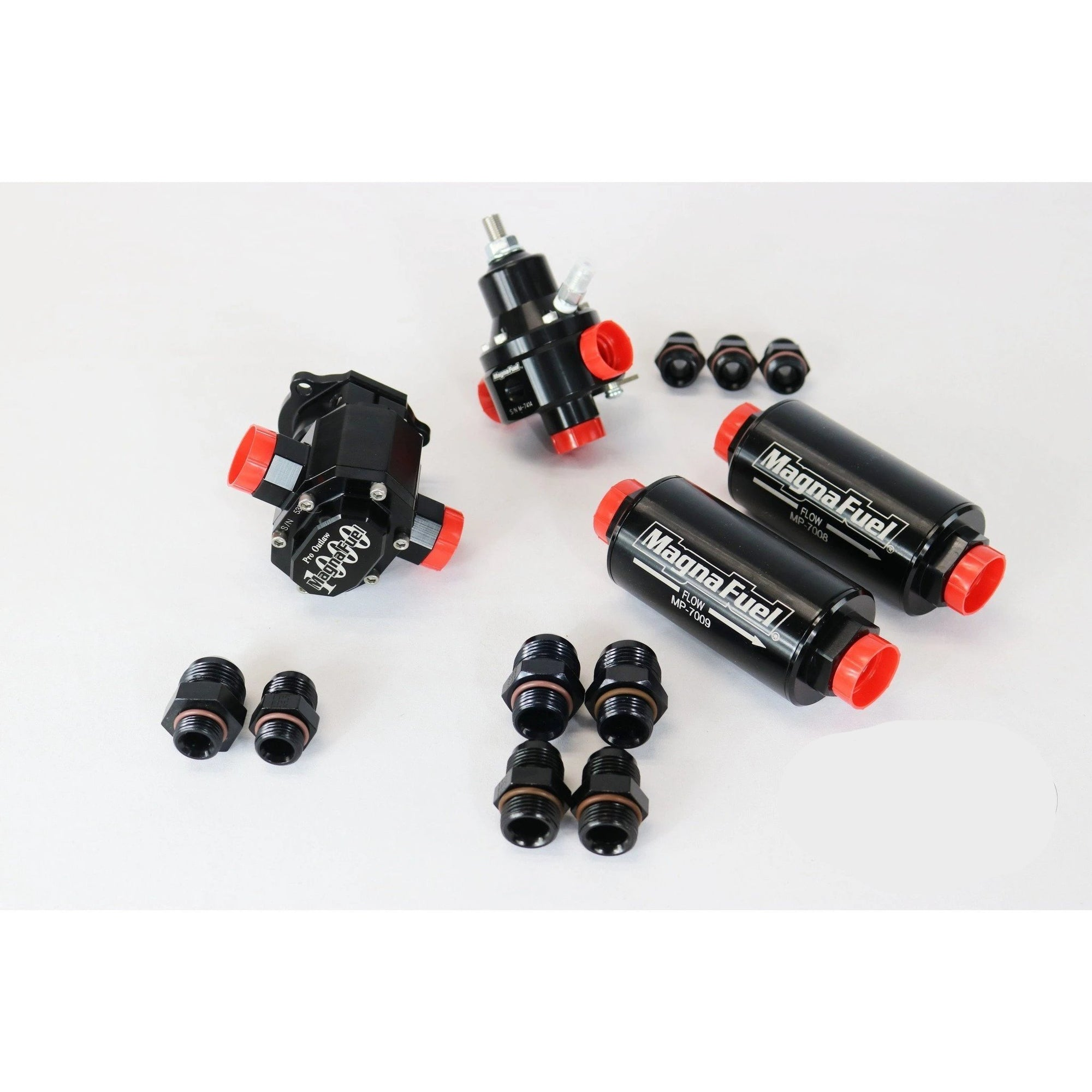 Motion Raceworks EFI Mechanical Race Fuel System Basic MP-4205-BLK-Kit-Motion Raceworks