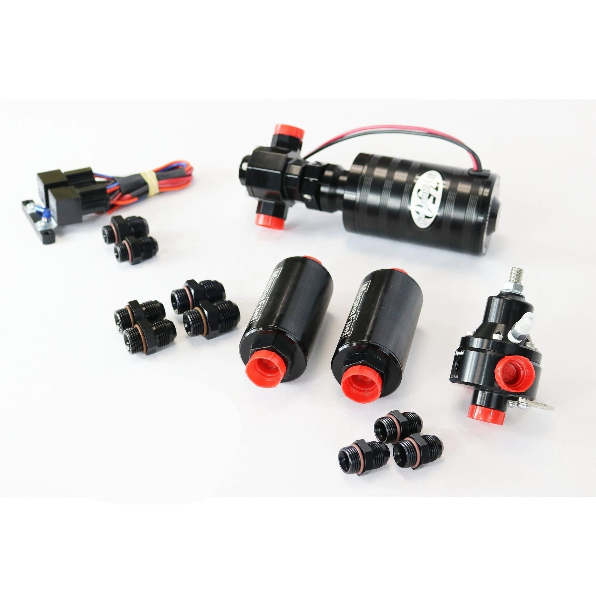 Motion Raceworks EFI Race Fuel System Basic MP-4703-BLK-Kit-Kit-Motion Raceworks
