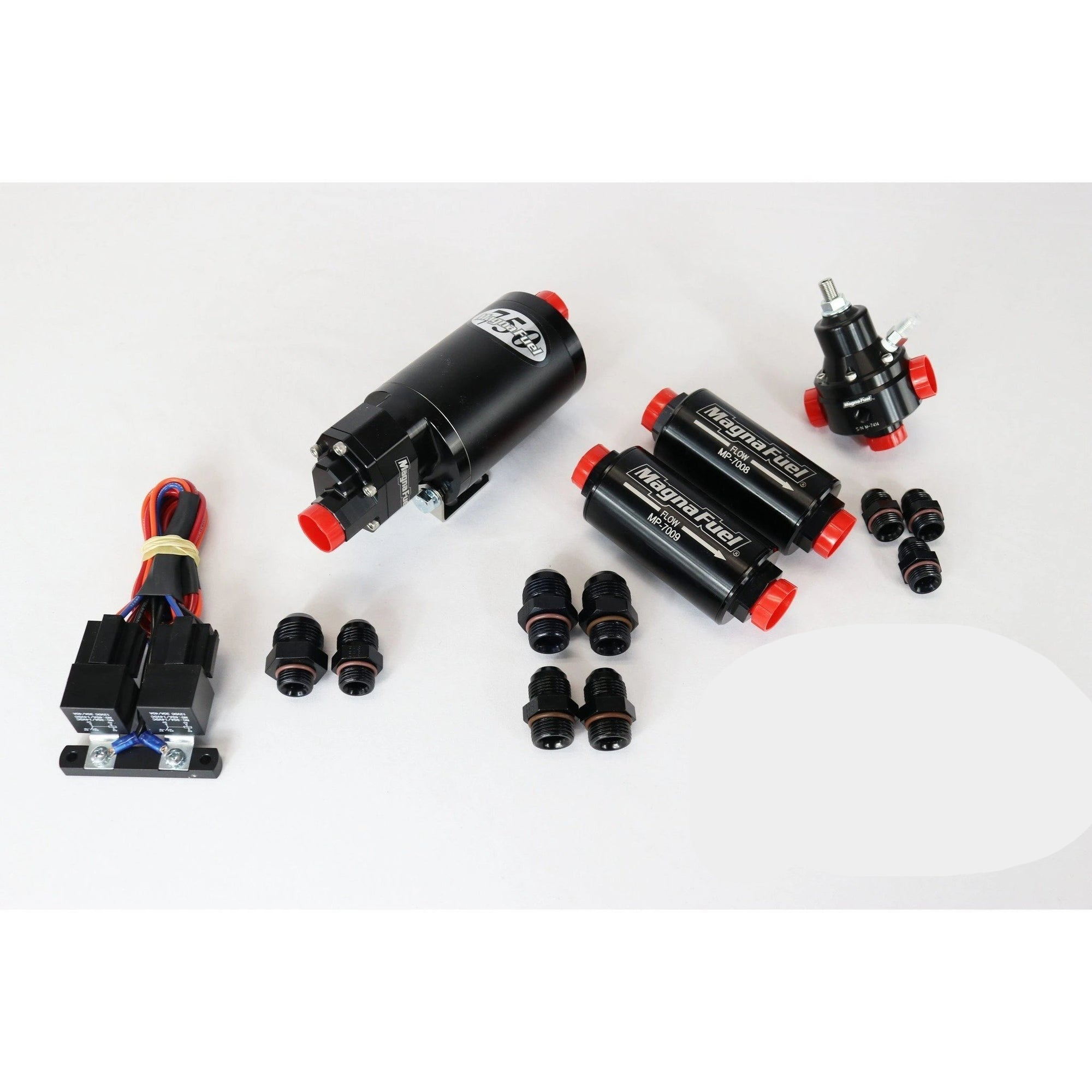 Motion Raceworks Street Race EFI Fuel System Basic MP-4303-BLK-Kit-Motion Raceworks