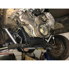 Motion Raceworks 5.0 Coyote Engine Diaper, NHRA & IHRA Approved (For Motor Mounts, w/Cutouts)
