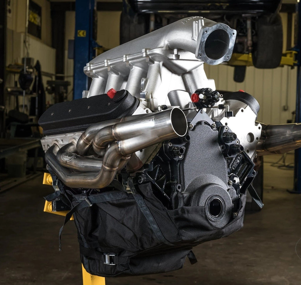 Motion Raceworks LS1 Engine Diaper, NHRA & IHRA Approved (For Motor Plate, No Cutouts)