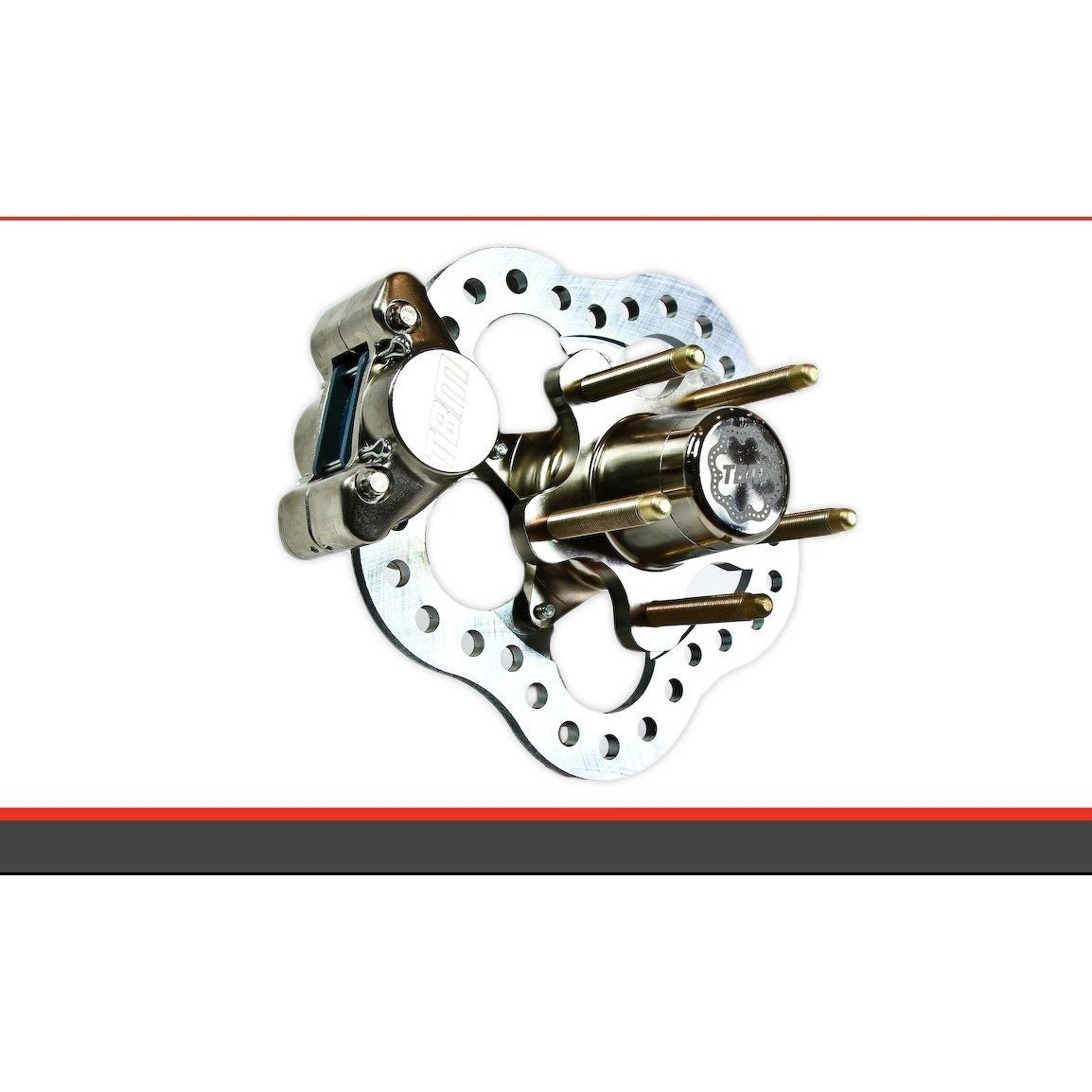 TBM Brakes 1964-67 Chevelle Front Race Brakes (Disc Spindle) 001-0201 - Motion Raceworks