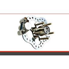 TBM Brakes 1964-67 Chevrolet Chevelle Front Race Brakes (Disc Spindle) 001-0201