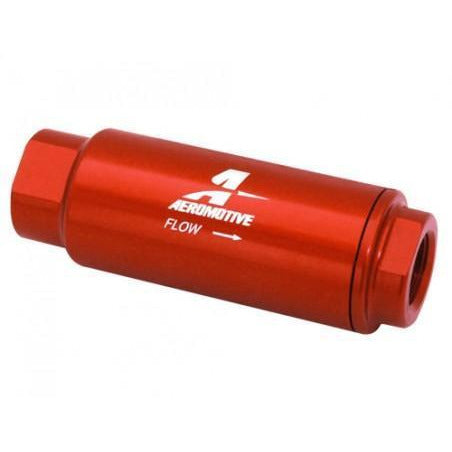 "Aeromotive Female 3/8"" NPT 100 Micron Stainless Filter 12316-Aeromotive-Motion Raceworks"