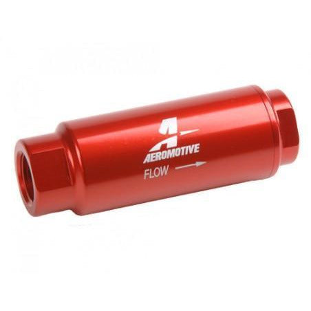 "Aeromotive Female 3/8"" NPT 40 Micron Stainless Filter 12303-Aeromotive-Motion Raceworks"