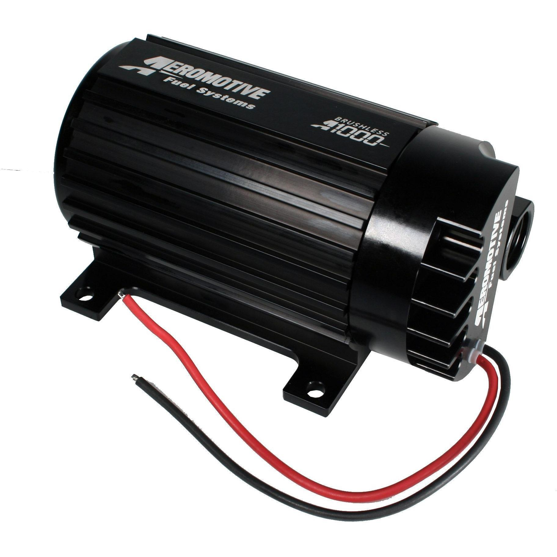 Aeromotive Brushless A1000 Signature Pump, w/Feet 11183-Aeromotive-Motion Raceworks