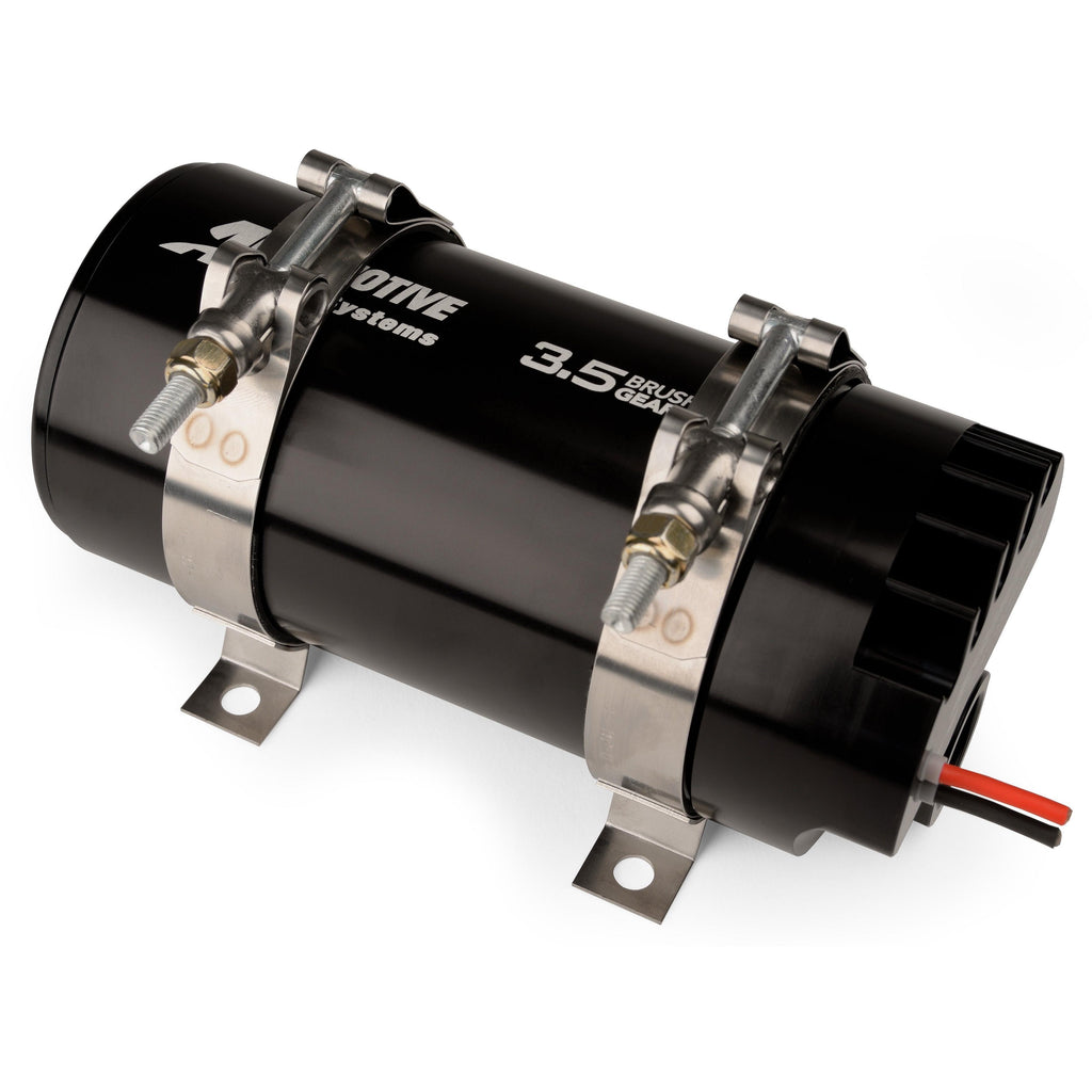 Aeromotive Brushless Gear 3.5 GPM Fuel Pump – Dual Cushion Clamps (11181)