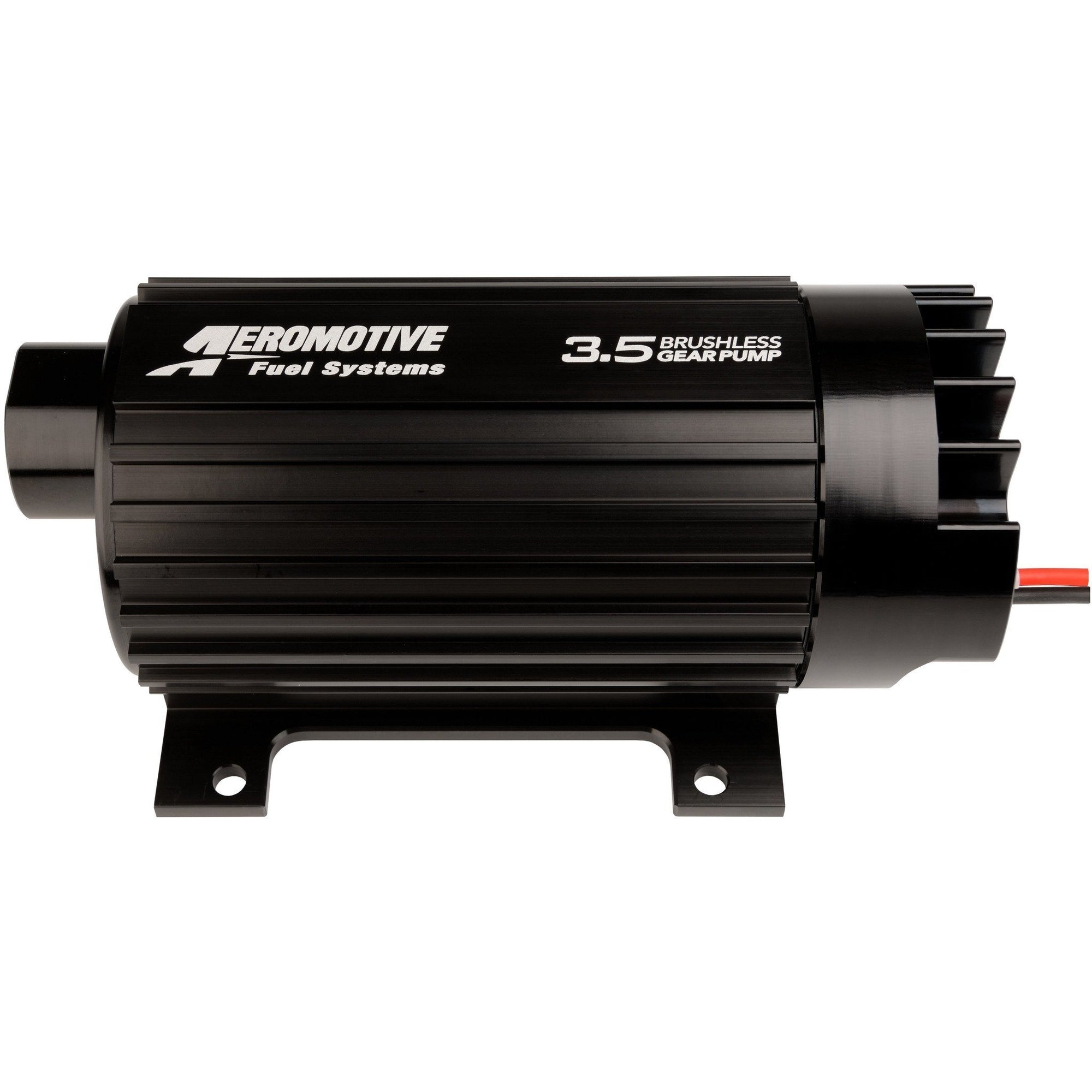 Aeromotive Brushless Gear 3.5 GPM Fuel Pump, w/Feet 11185-Aeromotive-Motion Raceworks