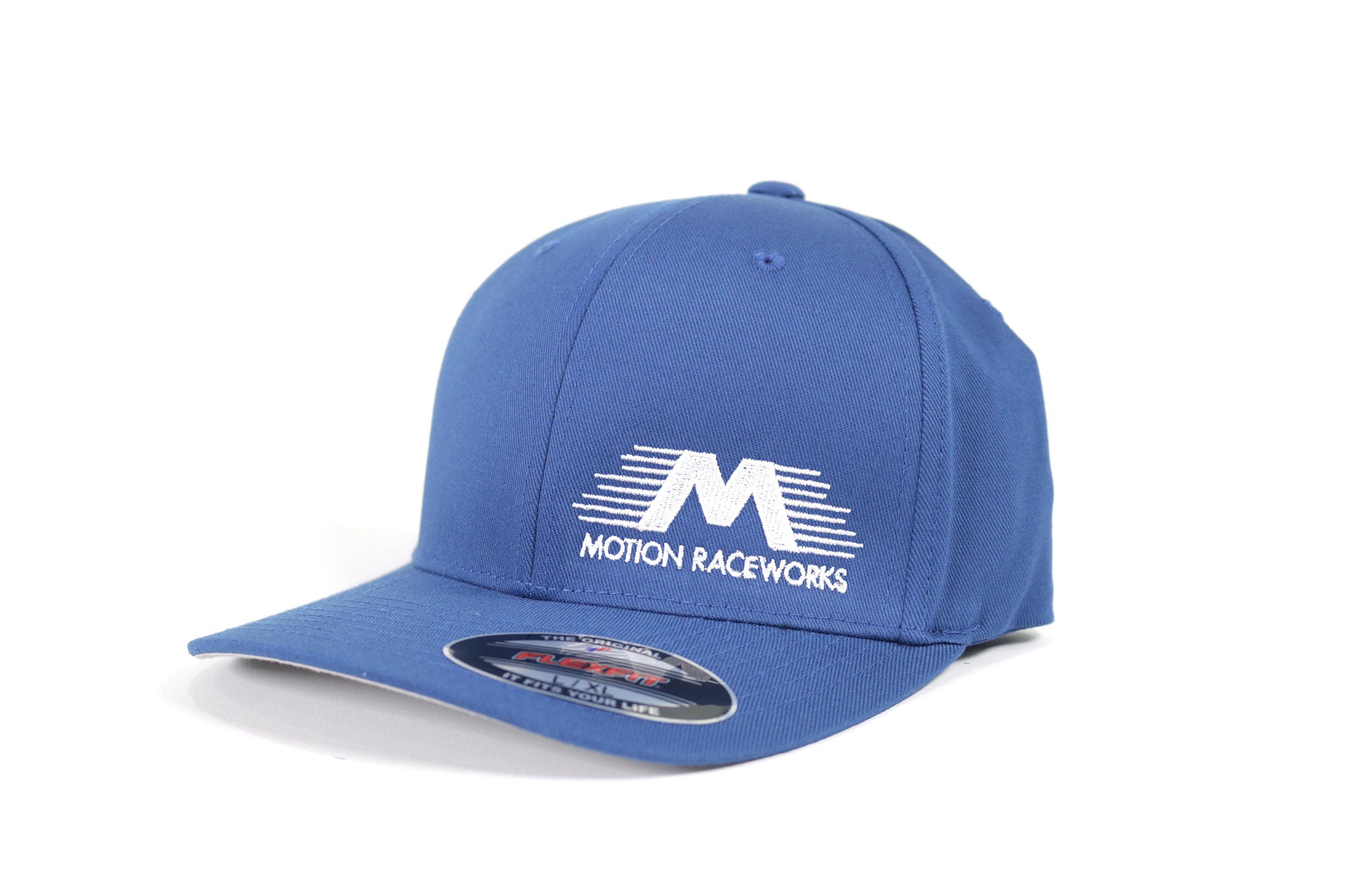 Blue Motion Raceworks Flexfit Hat S/M & L/XL-Motion Raceworks-Motion Raceworks