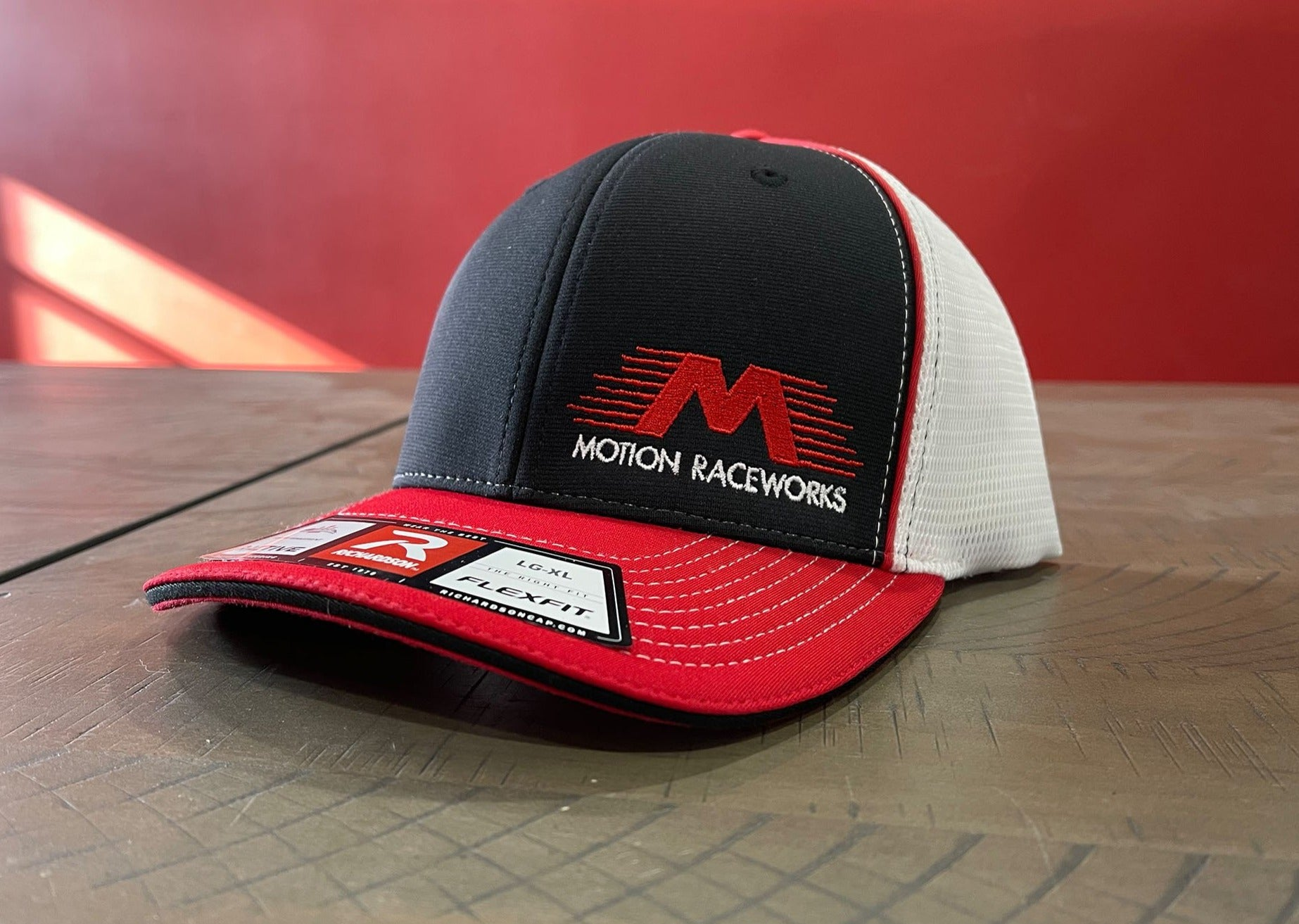 """The Classic"" Mesh Back Flex Fit Motion Hat-Motion Raceworks-Motion Raceworks"