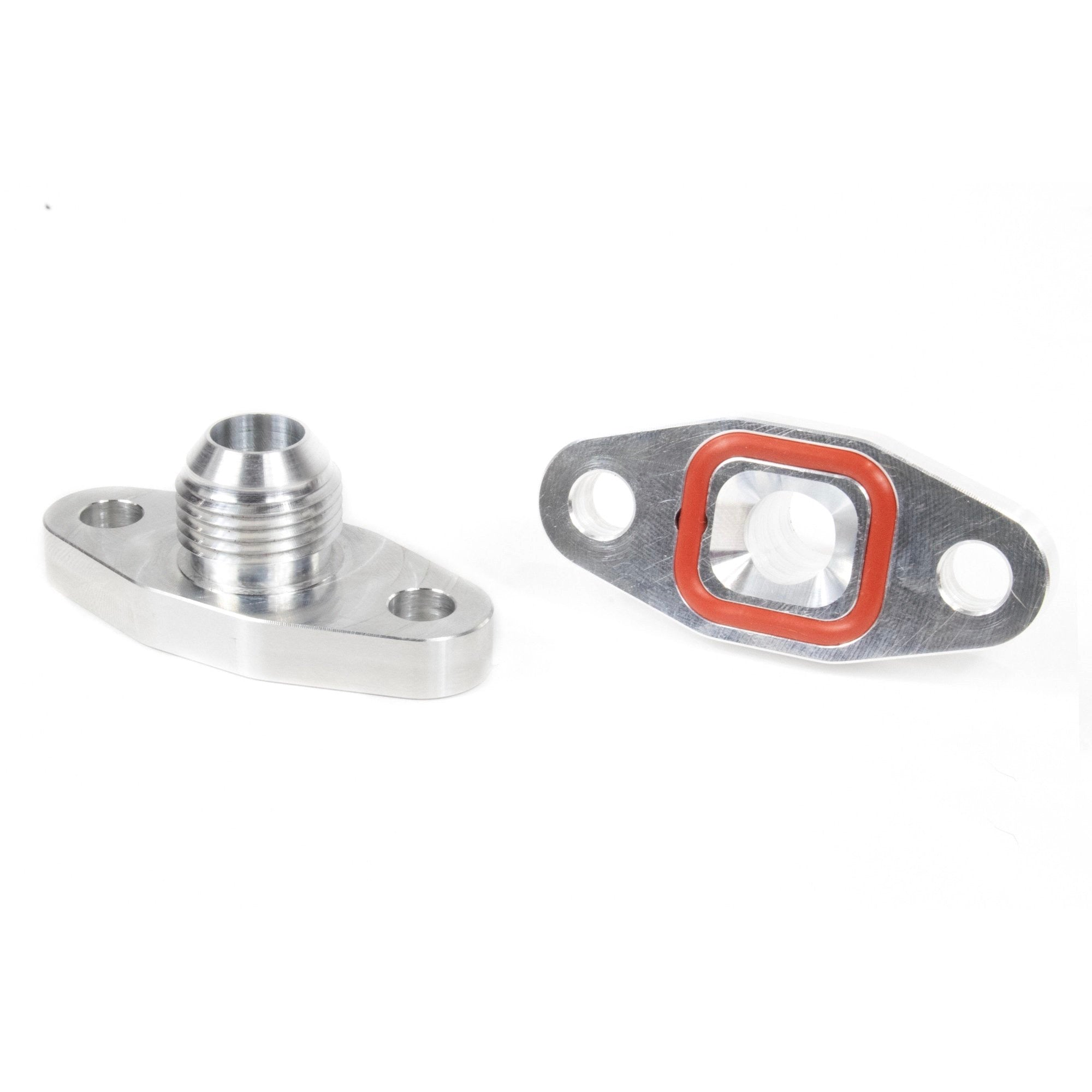 Motion Billet T4 T6 Turbo Drain Oil Flange 10AN 21-10008-Motion Raceworks-Motion Raceworks