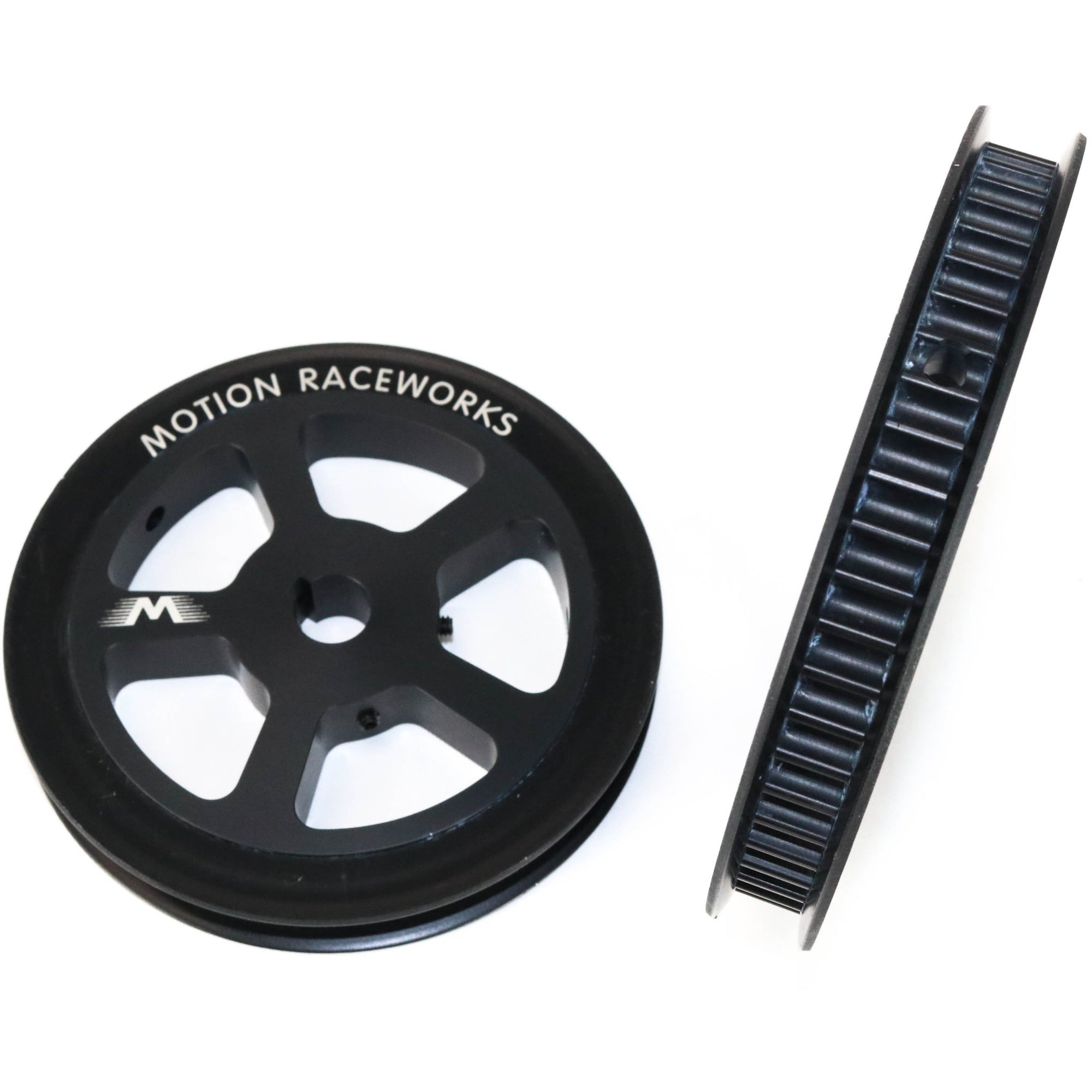 Motion Raceworks 56 tooth 8mm HTD Pulley for 5/8 Hex shaft-Motion Raceworks-Motion Raceworks