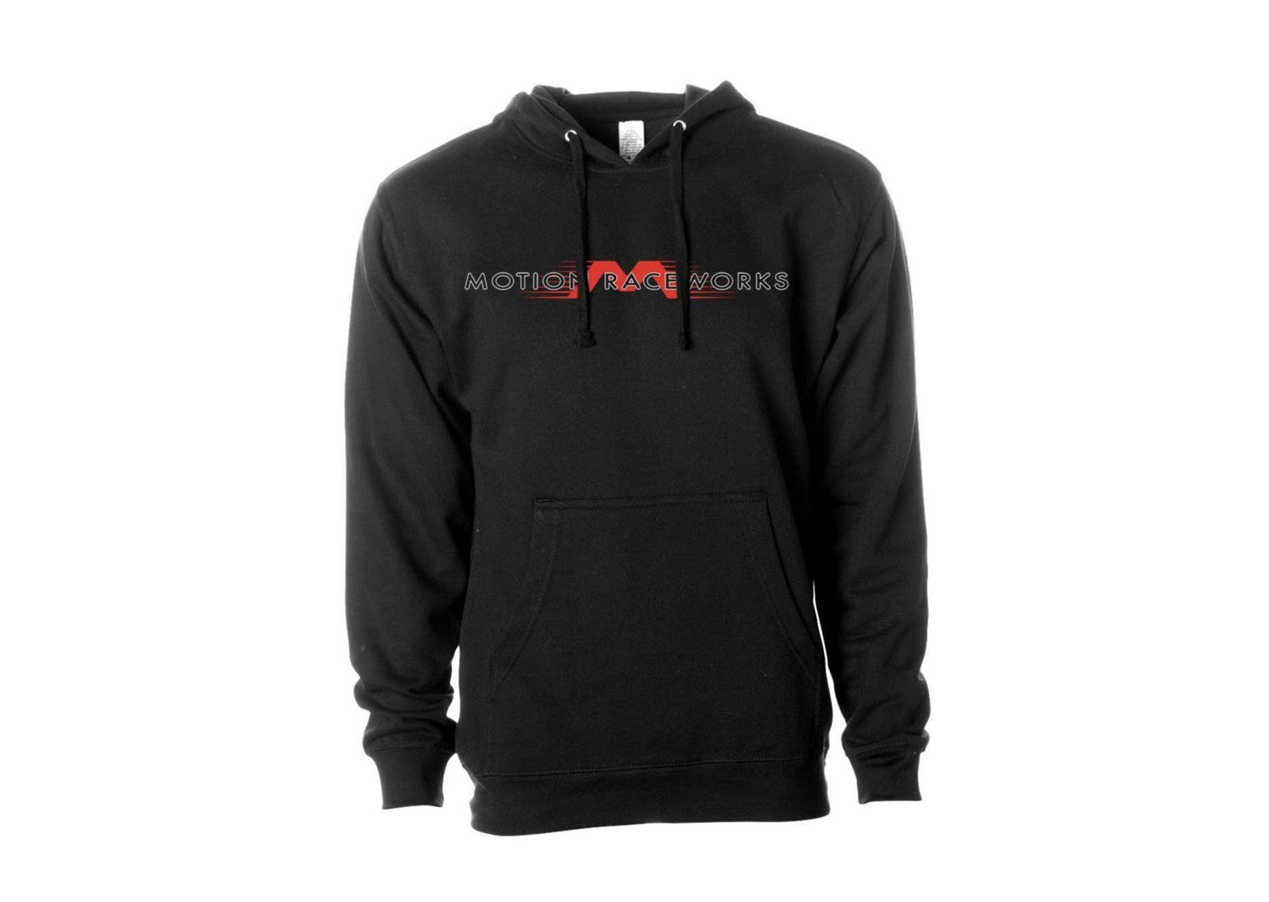 """Flying M"" Motion Logo Black Hoodie-Motion Raceworks-Motion Raceworks"