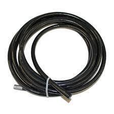 Fragola -12 AN PTFE Lined Stainless Hose Black 6000 series, 20 Feet 602030-Fragola-Motion Raceworks