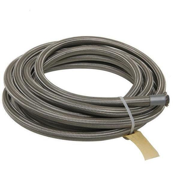 Fragola -6 AN PTFE Lined Stainless Hose (Sold By Foot) 600006-Fragola-Motion Raceworks