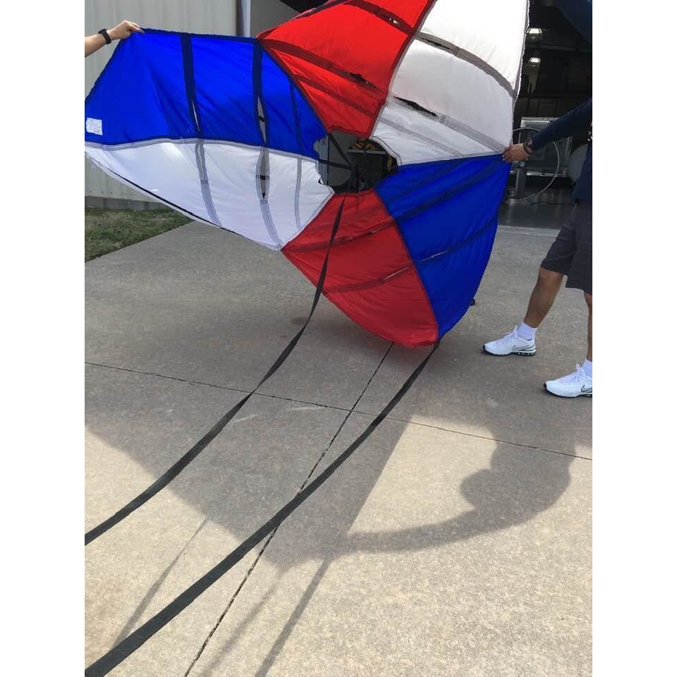 'Merica Stroud 430 Pro Stock Parachute Red White and Blue-Stroud-Motion Raceworks