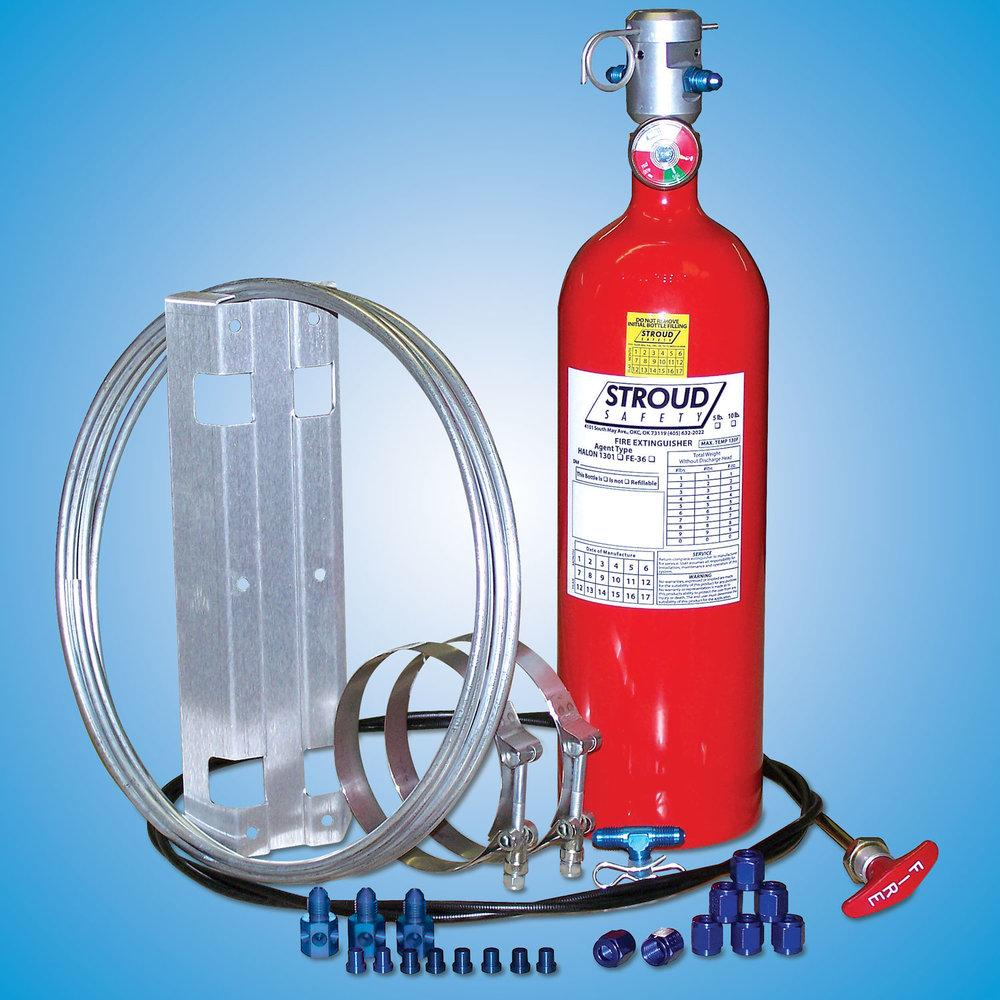 Stroud 10 lb FE-36 Fire Suppression System P/N 9352-Stroud-Motion Raceworks