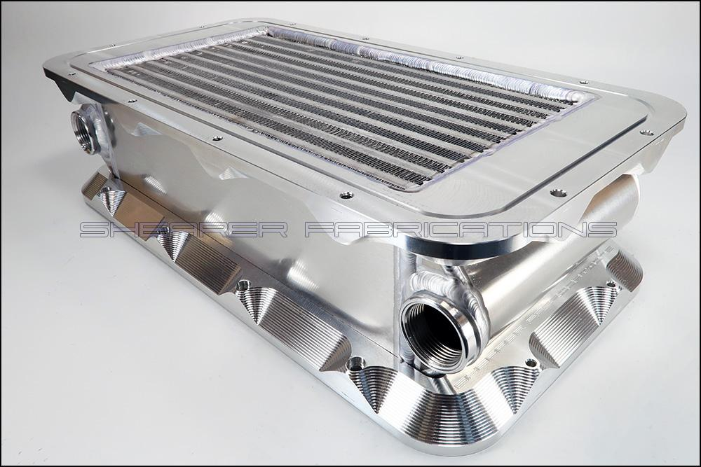 Shearer Fab HiRam LoRam Intercooler 2000hp SF06-02015-Shearer Fabrications-Motion Raceworks