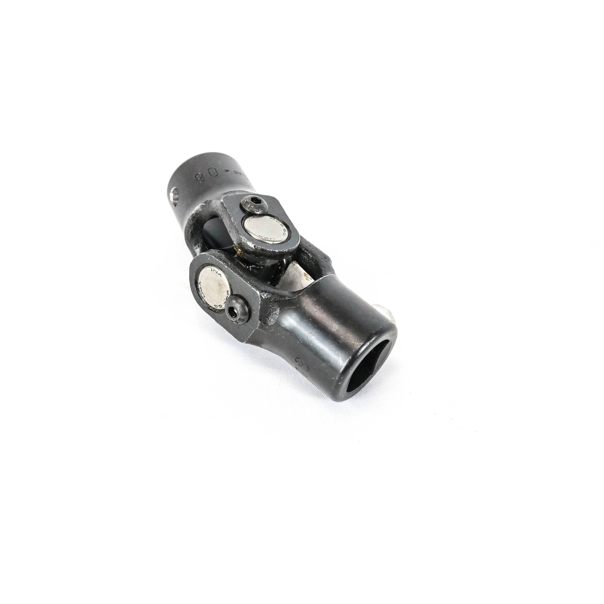 HIGH STRENGTH BLACK OXIDE UNIVERSAL JOINT WITH NEEDLE BEARINGS 9//16-26 SPLINE TO 1 DOUBLE D NEW SOUTHWEST SPEED STEERING U-JOINT 30 DEGREES OF USE ON STEERING SHAFT COLUMN BOX RACK