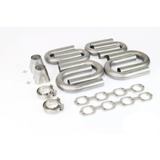 Ford Hi Port SBF 304 Stainless Turbo Header Build Kit 1 7/8