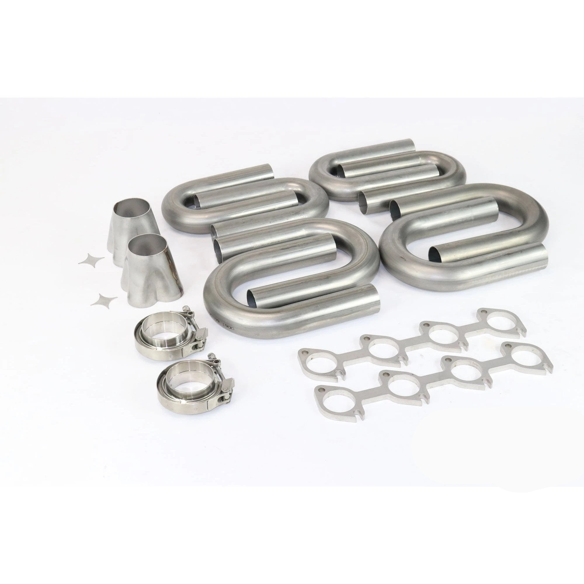 Ford Modular 2V 4.6 304 Stainless Turbo Header Build Kit - Motion Raceworks