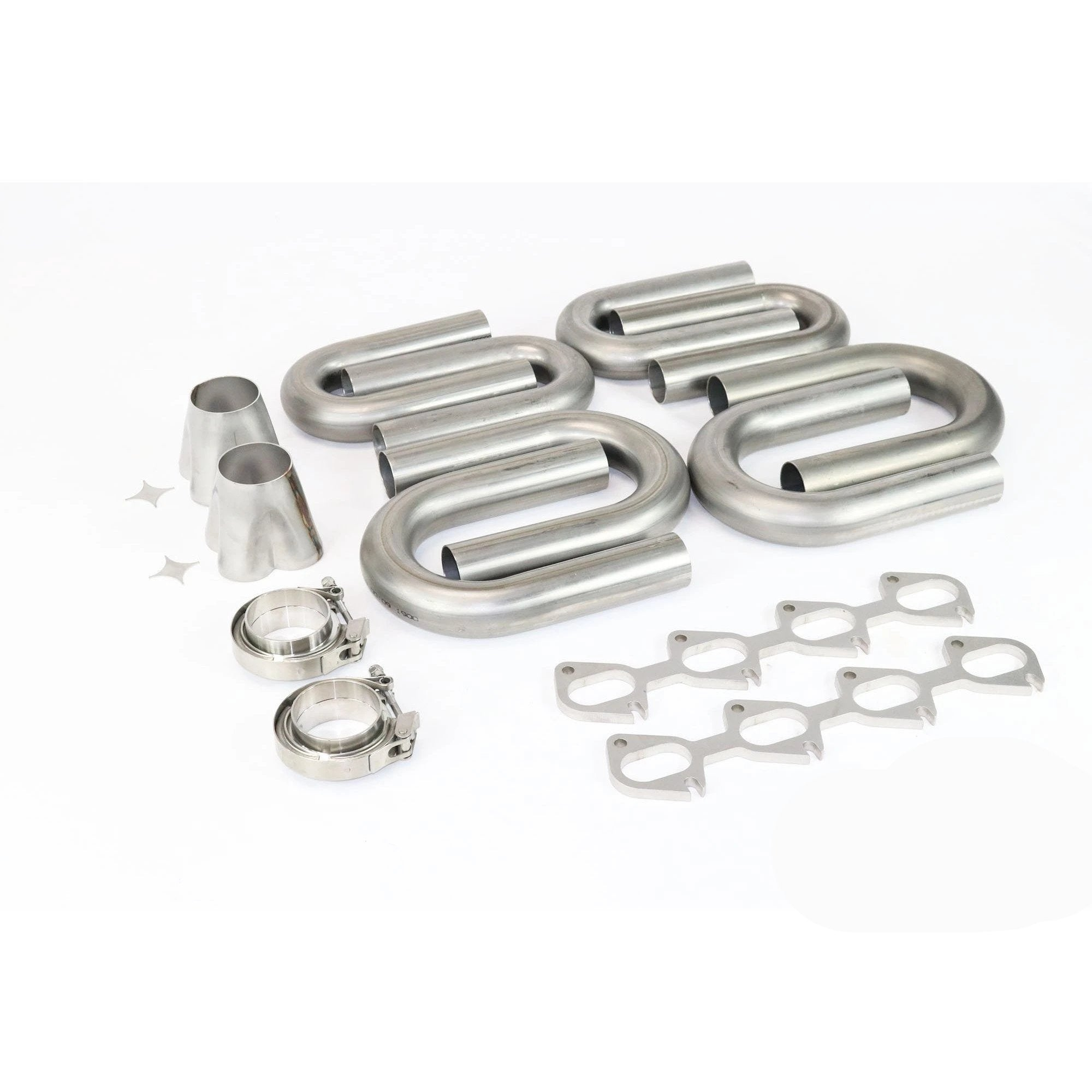 Ford Modular 4V 4.6 5.4 304 Stainless Turbo Header Build Kit - Motion Raceworks