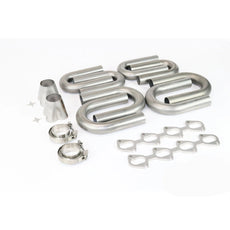 Ford Modular 4V 4.6 5.4 304 Stainless Turbo Header Build Kit