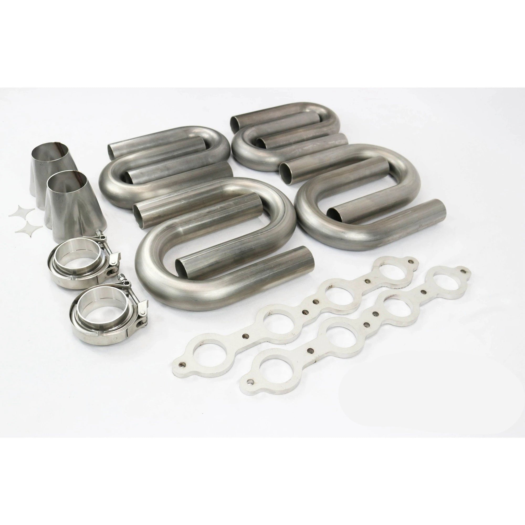 "Motion Raceworks LS1 1.875"" Primary 304 Stainless Steel Turbo Header Kit-Kit-Motion Raceworks"
