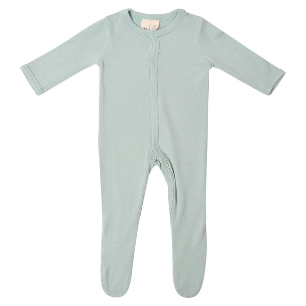 Kyte Baby Solid Footie in Sage