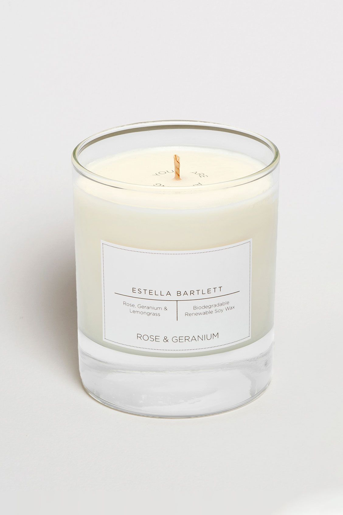 Estella Bartlett Rose & Geranium Soy Candle