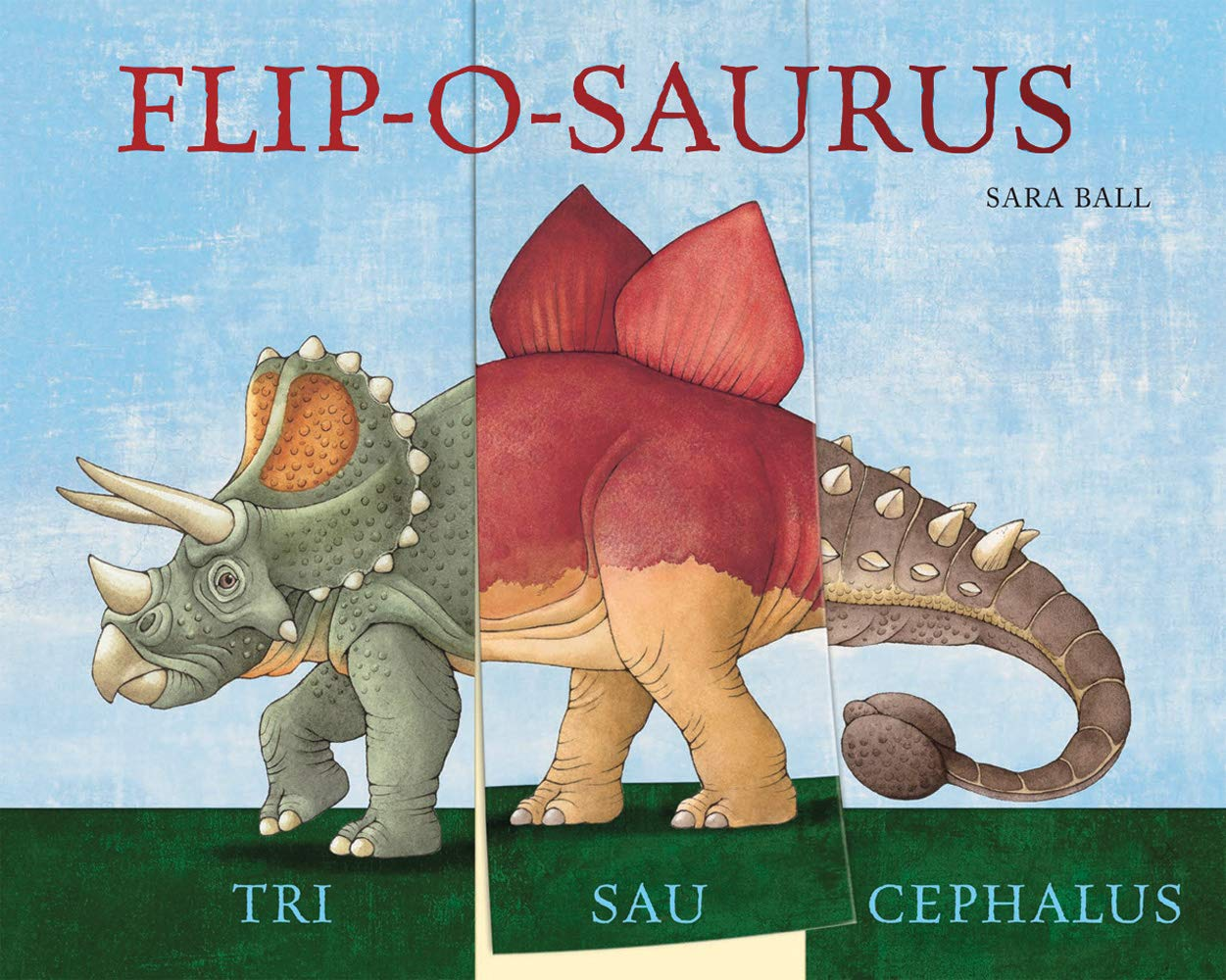 Flip-a-saurus: A Mix & Match Board Book