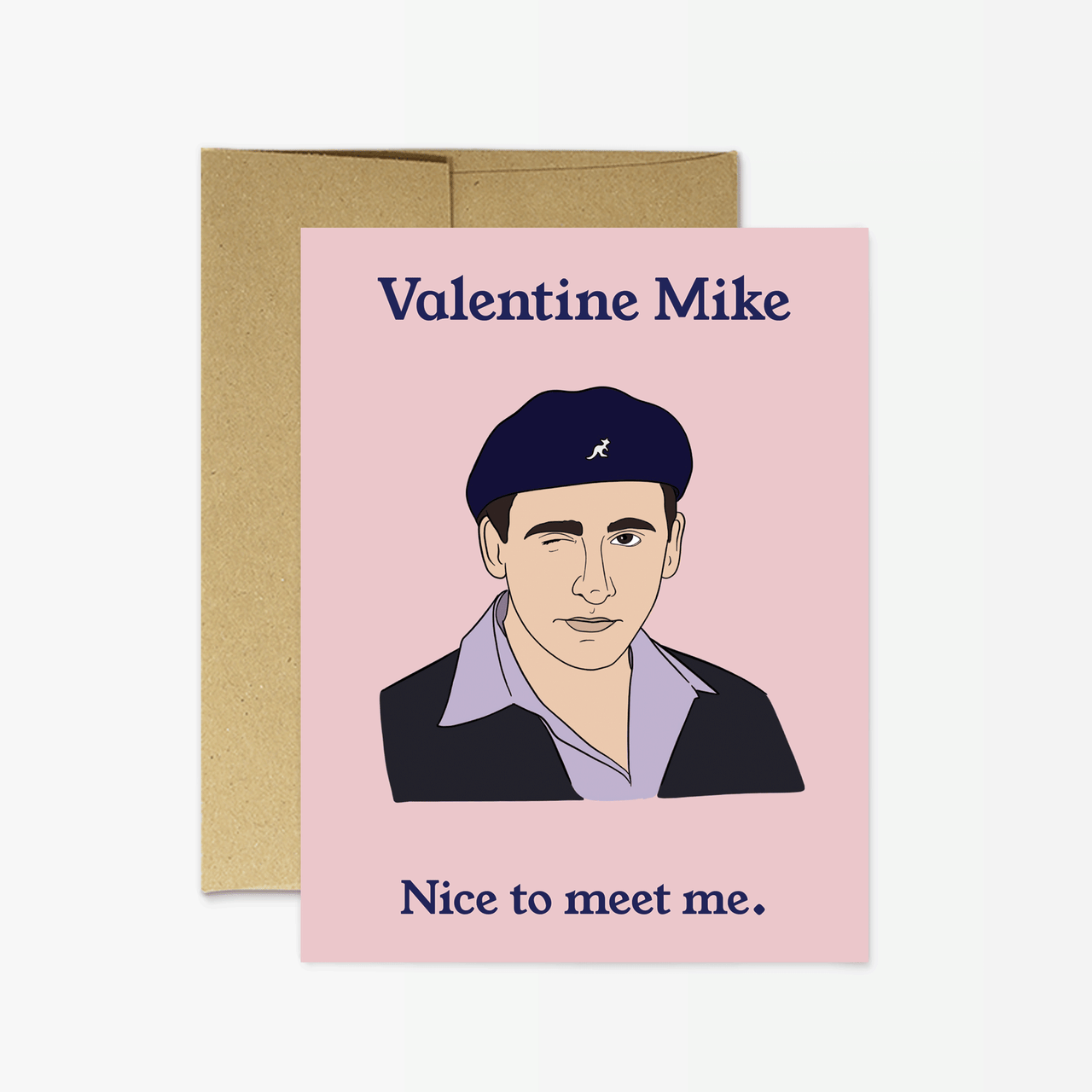 Valentine Mike Greeting Card
