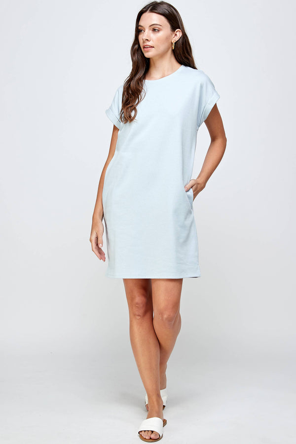 Feels Like Summer T-Shirt Dress