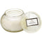 Voluspa Embossed Glass Candle