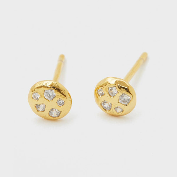 Collette Circle Studs