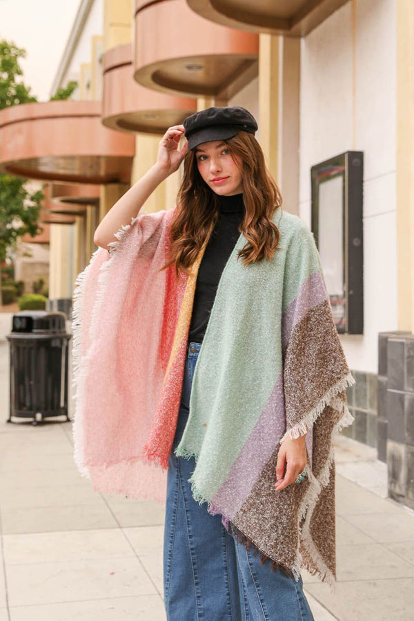 Colors of the Rainbow Kimono