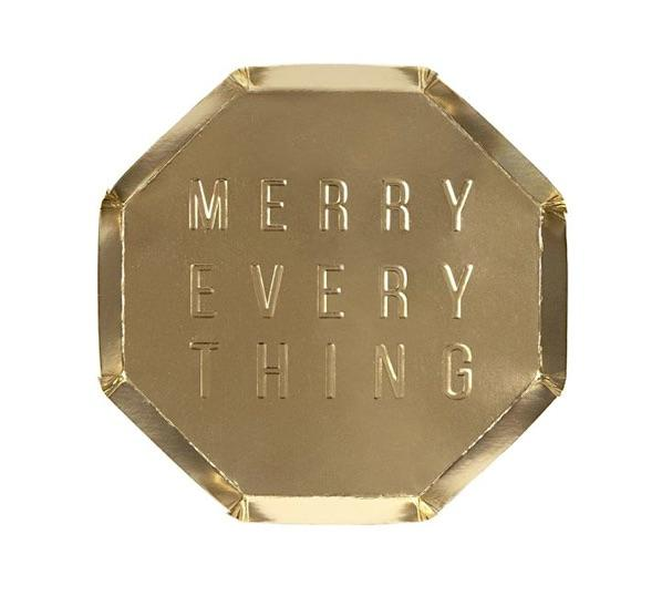 Merry Everything Plates