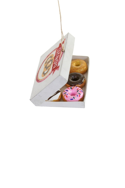 Boxed Donut Ornament