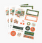 Rifle Paper Co. Pack of 3 Holiday Stickers & Labels