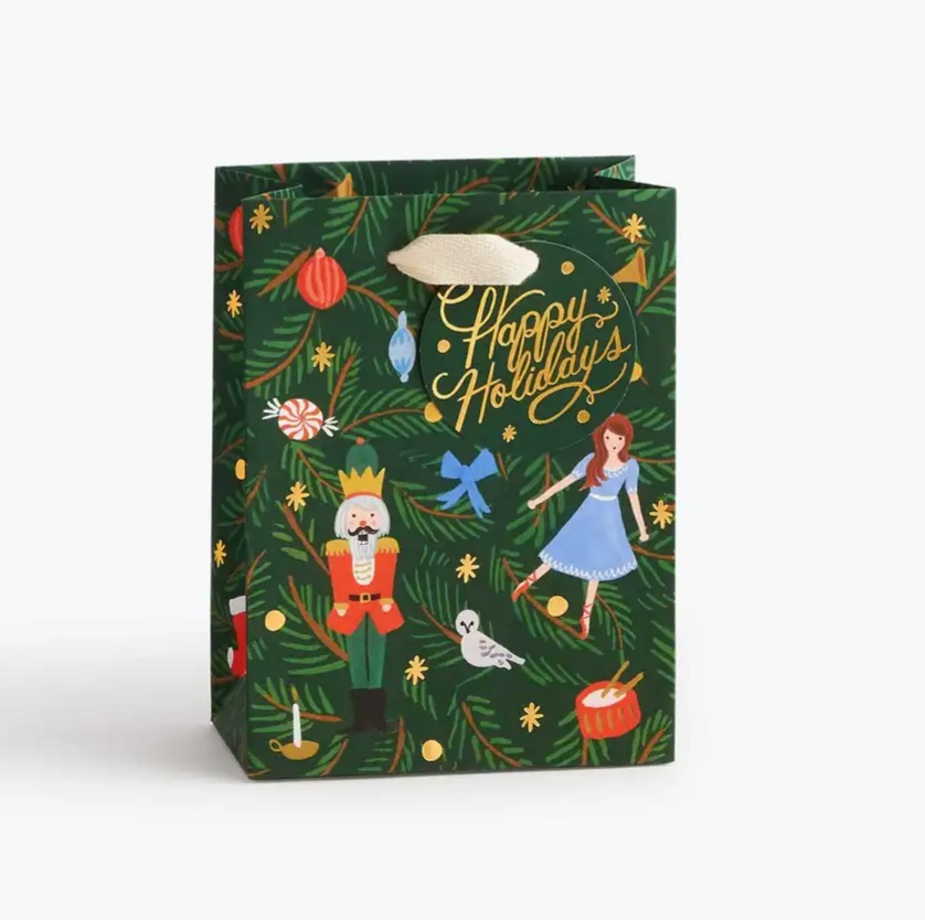 Rifle Paper Co. Nutcracker Gift Bag