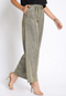 Gold Metallic Wide Leg Pants