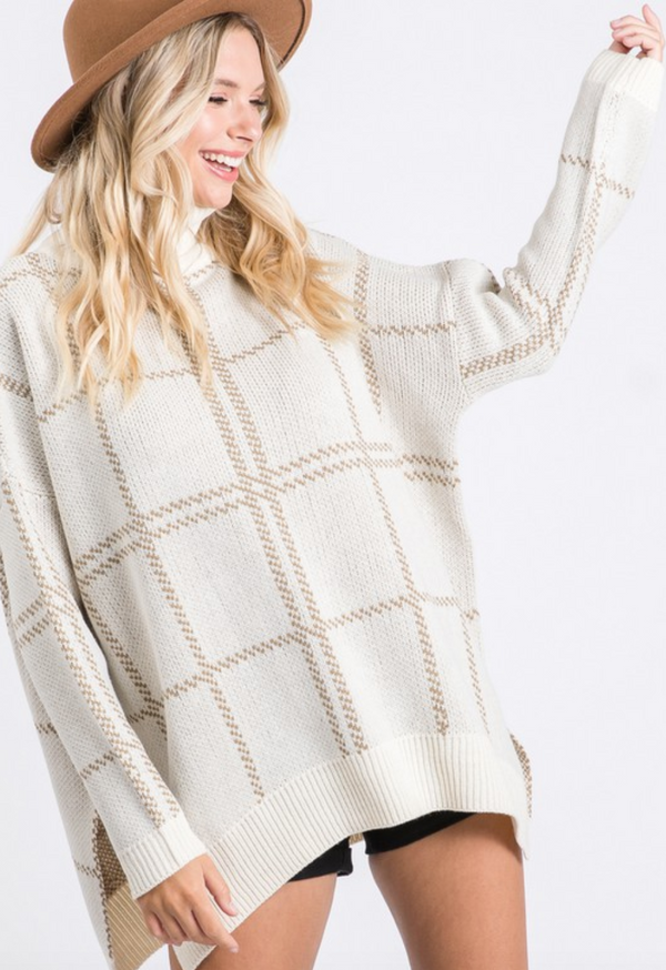 Chilly Morning Tunic Sweater