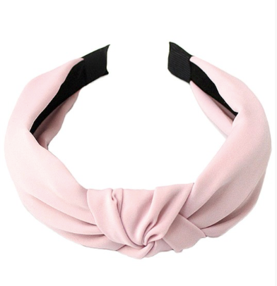 Satin Knot Headband