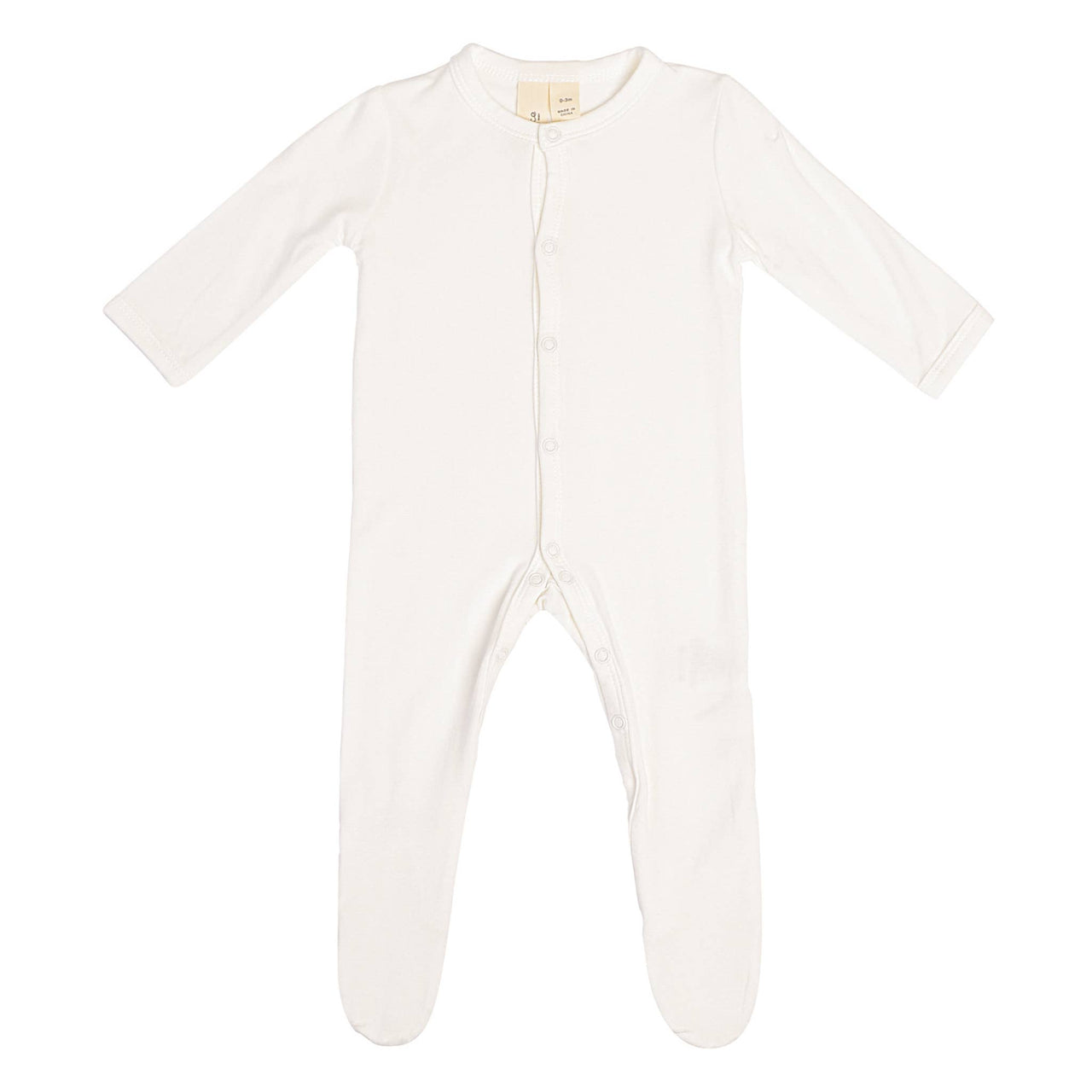 Kyte Baby Solid Footie Pajamas in Cloud
