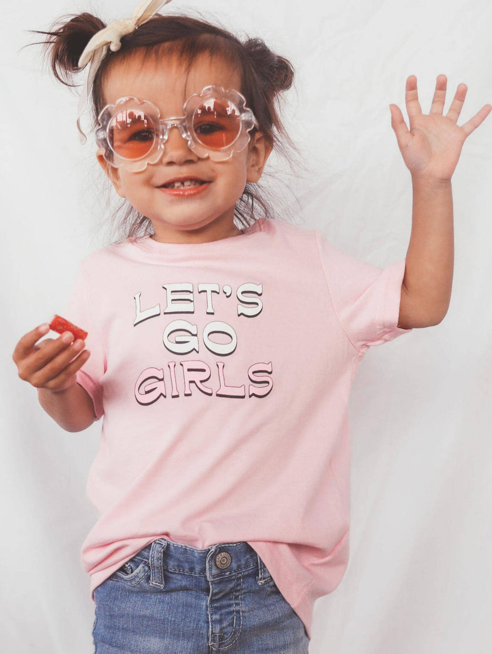 Let's Go Girls Toddler Tee