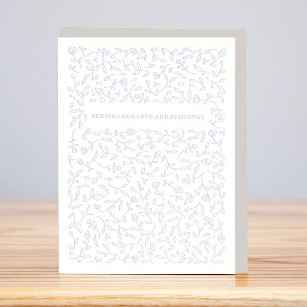 Sending Love and Sympathy Greeting Card