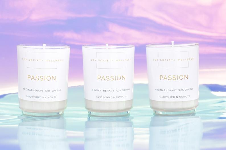 Soy Society Passion Candle