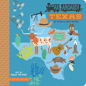 All Aboard Texas Board Book