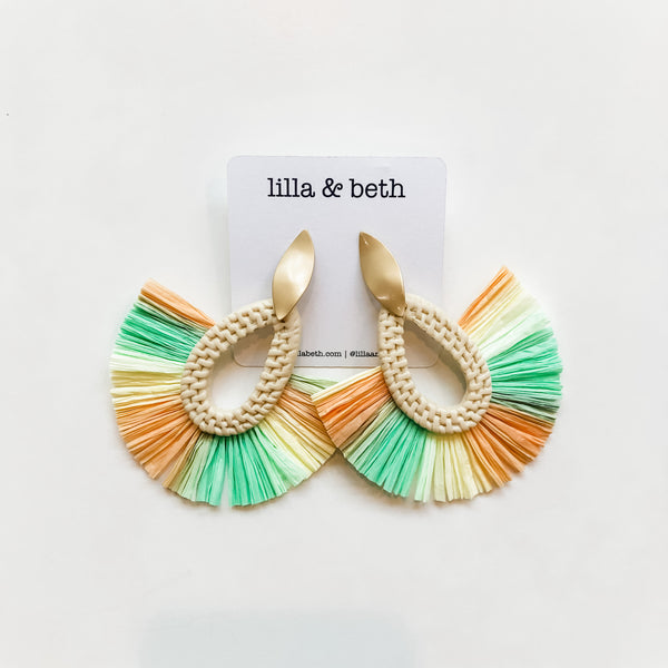 Summer Tassel Earrings