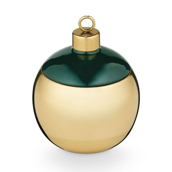 Winter Mint Metal Ornament Candle